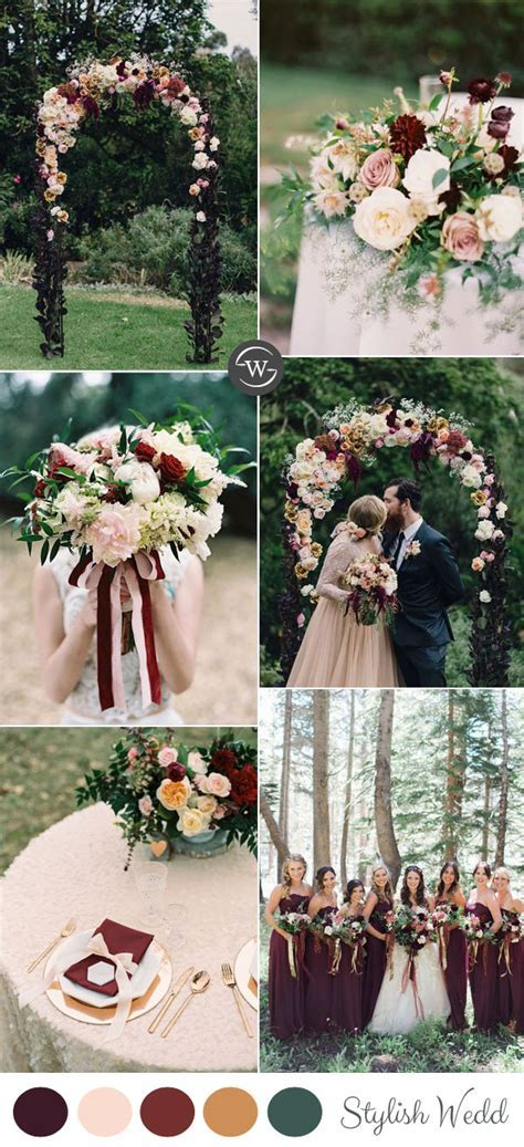 Burgundy Wedding Colors ? Stylish Wedd Blog