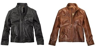 Leather Jacket Tannery West Triangles Series 100 Original timberland friends and family sale