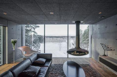 All White Home Interiors concrete house architecture