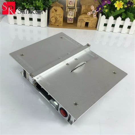 silver woodworking machinery diy model saw cutting mini table saw handmade woodworking