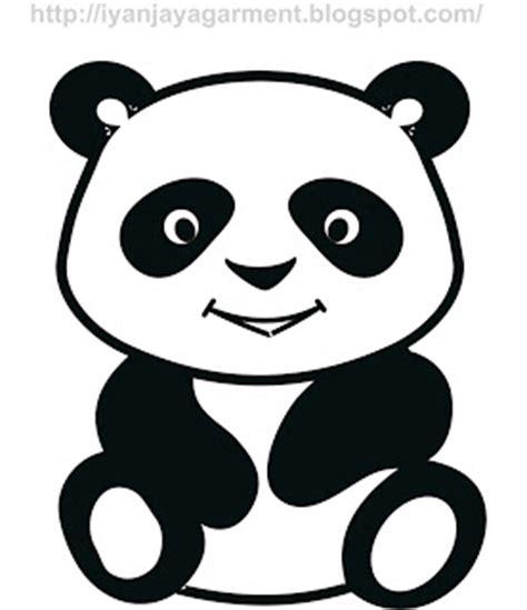 wallpaper panda hitam putih culek design panda hitam putih free vector download