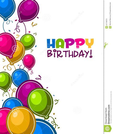 imagenes de cumpleaños con globos globos del feliz cumplea 241 os imagenes de archivo imagen