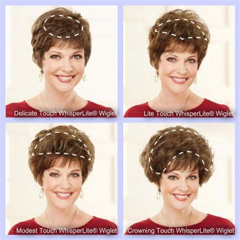 Wiglets For Women With Thinning Hair | wiglets the perfect hair pieces for women s thinning hair