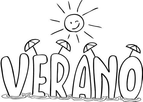 imagenes para colorear verano maestra de infantil dibujos para colorear el verano