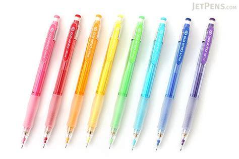 eno colors pilot color eno mechanical pencil 0 7 mm 8 color