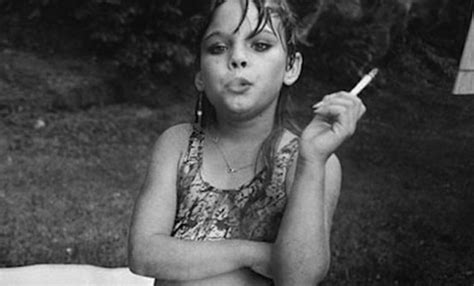 little girl smoking here s what became of the little girl with a cigarette