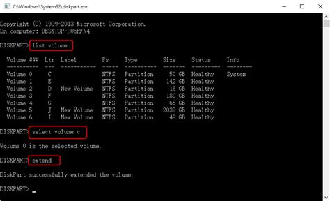 diskpart format unallocated space how to extend c drive windows 10 in different situations