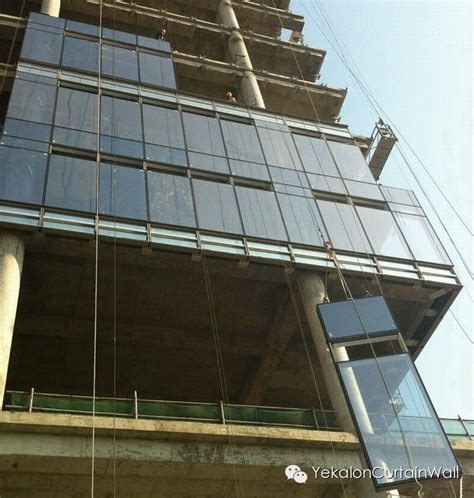 curtain wall installation process expertise decoding the lifting process of unitized