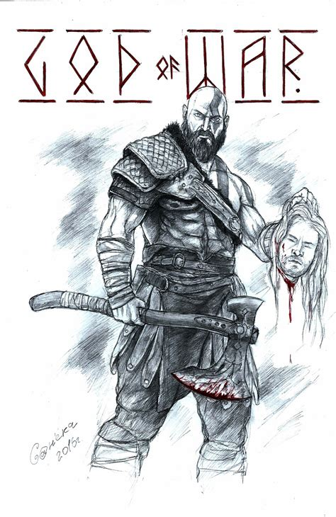 god of war 4 by sanoke on deviantart