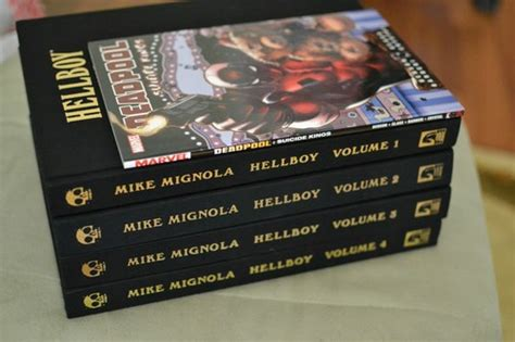 hellboy library edition volume 1593079109 hellboy library edition volume 1 seed of destruction and wake the devil mike mignola