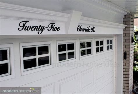 Garage Address home address lettering and numbers address lettering for