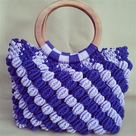 How To Make Macrame Bags - image gallery macrame bags