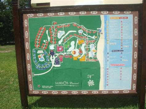 eco resort map the picture of sandos caracol eco experience