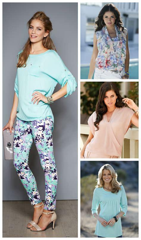 Tunic Blouse Girly Pastel trend crush pastel colours bonprix the