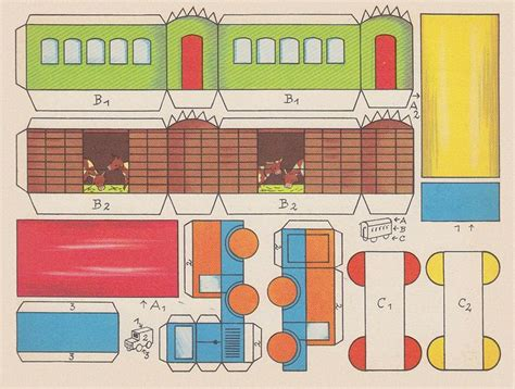printable paper train template 20 best images about train printables on pinterest