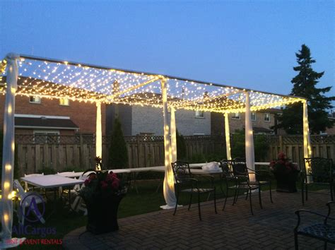 Allcargos Tent Event Rentals Inc Twinkle Light Canopy Light Canopy