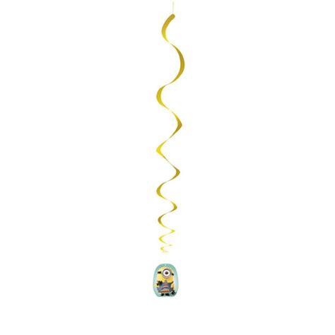 How To Make Hanging Paper Swirls - despicable me 2 hanging swirl this started