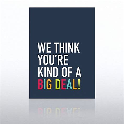 Kaos Note Note 18 Bv onboarding greeting card we think big deal at