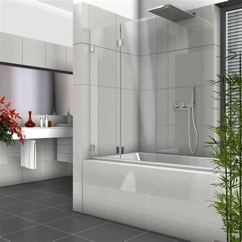 duschabtrennung auf badewanne duschabtrennung glas auf badewanne kreative ideen f 252 r