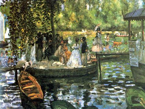 Ecos Sublimes: La Grenouillère, dos miradas: Claude Monet