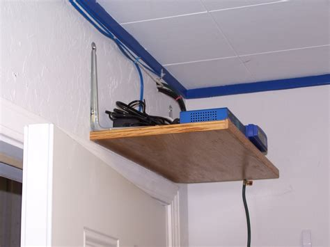 Router Shelf by Technical Information When Installing And Maintaining Networks