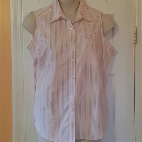 68 cabin creek tops muti colored sleeveless shirt