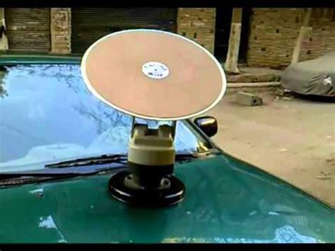 tracking mobile satellite antenna  cars caravans