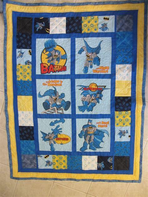 Batman Quilt by Quilters Workshop Batman Themed Quilt