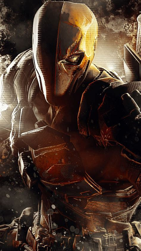 HD Background Deathstroke Mask Batman Arkham Origins