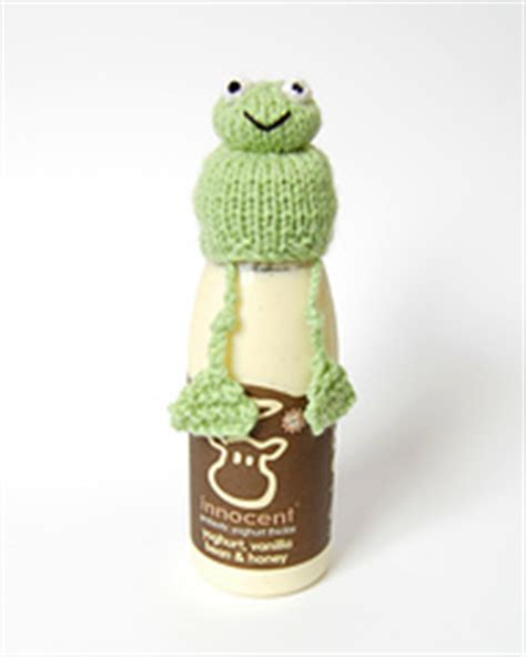 dave the stash busting dachshund knit flat in the ravelry knitted frog hat for innocent smoothies big knit