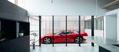 design garagen garage terrace house in kyoto by yoshiaki yamashita
