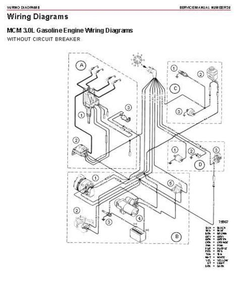 140 mercruiser wiring diagram schematic wiring diagram
