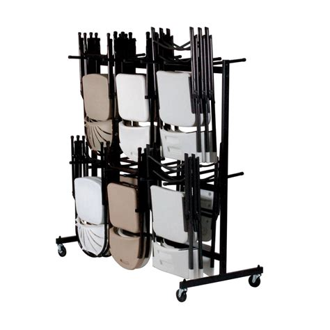 Chair Racks For Folding Chairs by Correll C84 09 Trucks Chairs Standing Folding Chair Rack