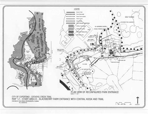 cupertino map cupertino 2002 creek trail feasibility study documents
