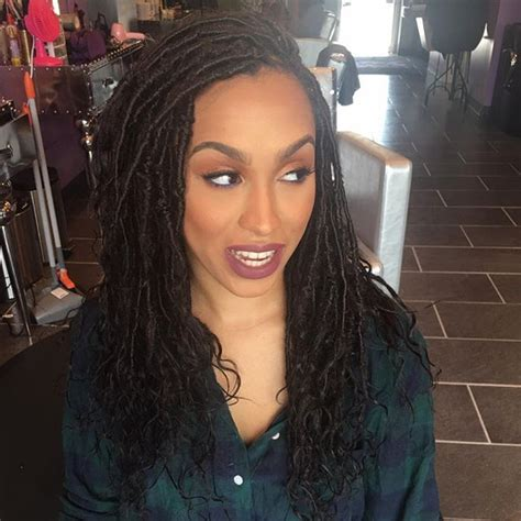meagan good for goddess faux locs caign bellanaija january2016 still in love with this style goddess faux locs with