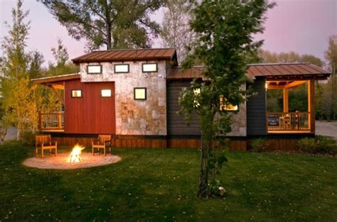 400 sq ft cabin the wheelhaus quot caboose quot wins big on style points tiny