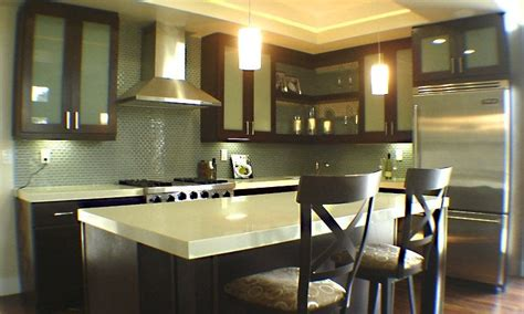 Lotus Laguna Cabinetry With Upgraded Blue Laminated Doors City Cabinets San Diego