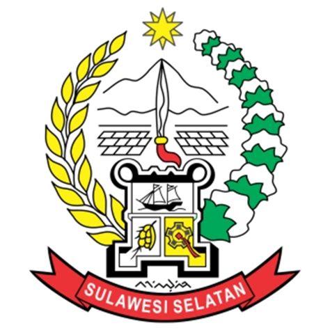 provinsi sulawesi selatan logo vector stok logo