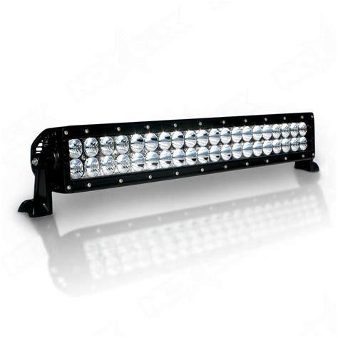 light bar 20 quot dual row led light bar 20 in led light bars nox lux