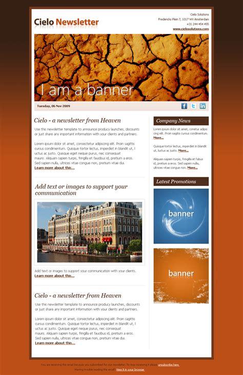 themeforest newsletter cielo newsletter by seal themeforest