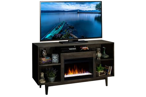 68 quot vine entertainment console fireplace