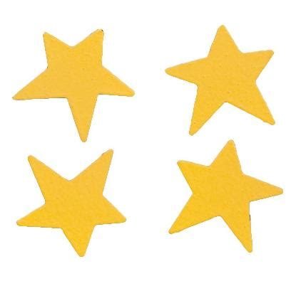Home Accessories And Decor Mini Stars 4 Pack Yellow