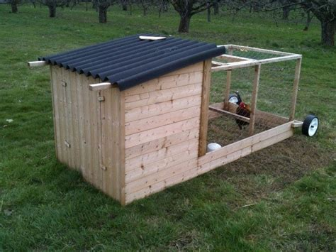 Easy Backyard Chicken Coop Plans How To Build A Chicken Tractor Diy Projects For Everyone