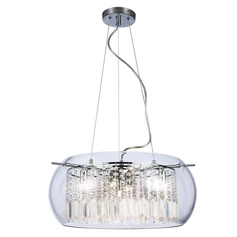 and chrome chandelier home decorators collection baxendale 5 light and