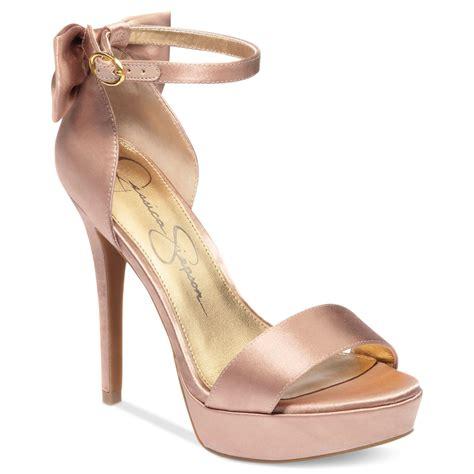 bowie platform dress sandals in pink