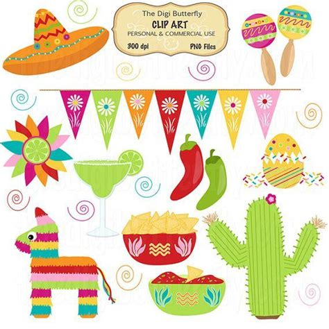 clipart festa clip borders ole clip set cinco de