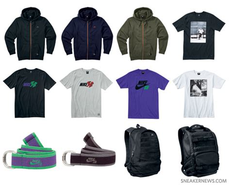 nike clothes nike sb july 2010 apparel accessories sneakernews