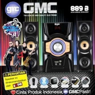 Gmc 886a Multimedia Woofer Usb Remot Sd Card jual speaker aktif gmc 889b remote usb sd card mic bluetooth aneka irama