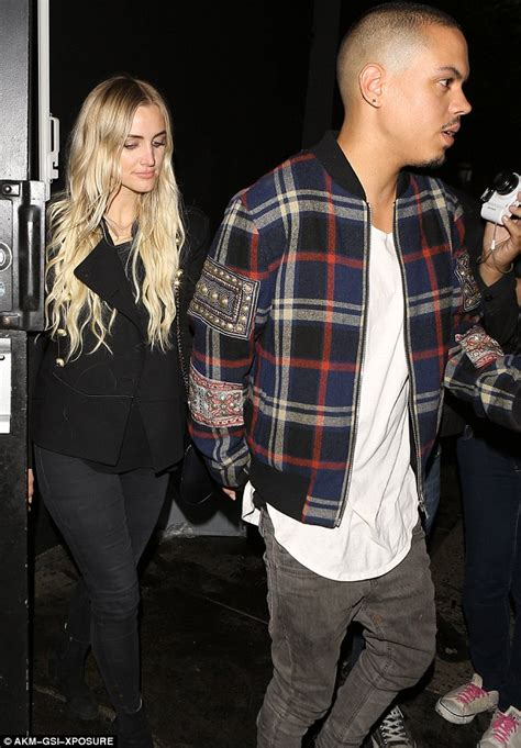 Jess And Ashlee Inseperable by Ashlee And Evan Ross Hold As They Leave La