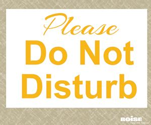 Printables Signs And Reminders To Add Efficiency Bepapersmart Do Not Disturb Sign Template